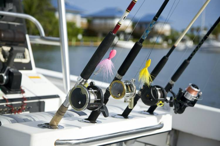 A fishing charter in St. Augustine